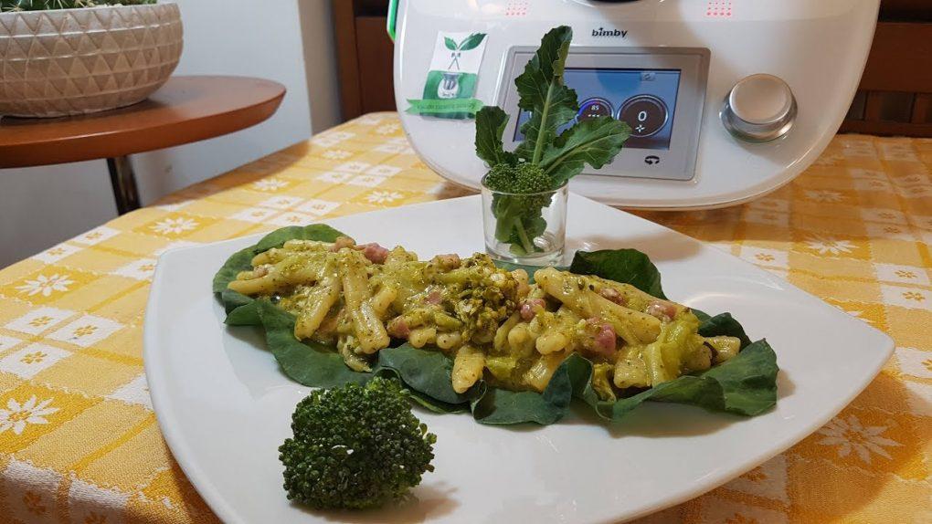 Pasta broccoli e pancetta risottata bimby per TM5 e TM31