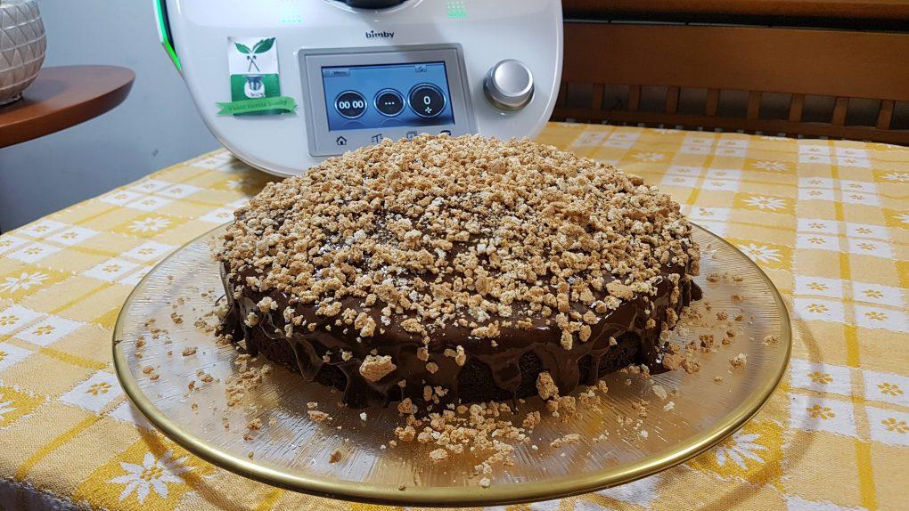Torta cioccolato e amaretti bimby per TM5 e TM31