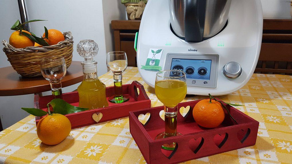 Liquore mandarinetto bimby per TM5 e TM31