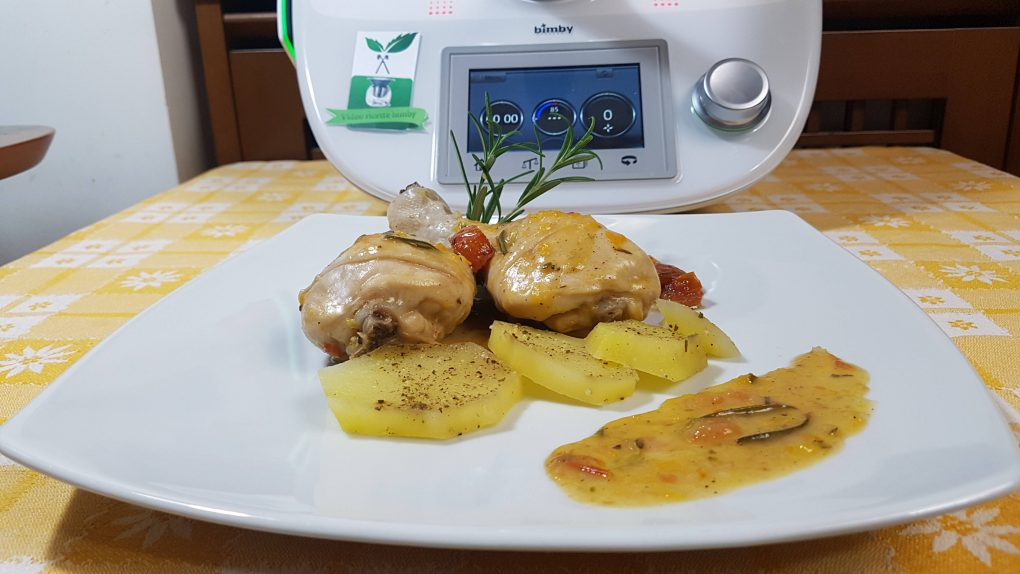 Cosce di pollo con patate bimby per TM5 e TM31