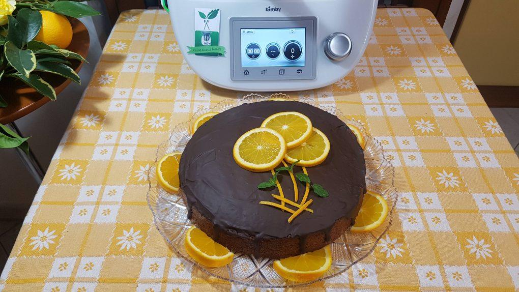 Torta nuvola all'arancia bimby per TM5 e TM31