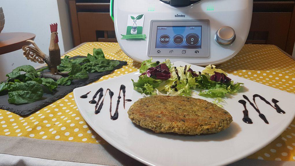 Cotolette di spinaci e pollo o spinacine
