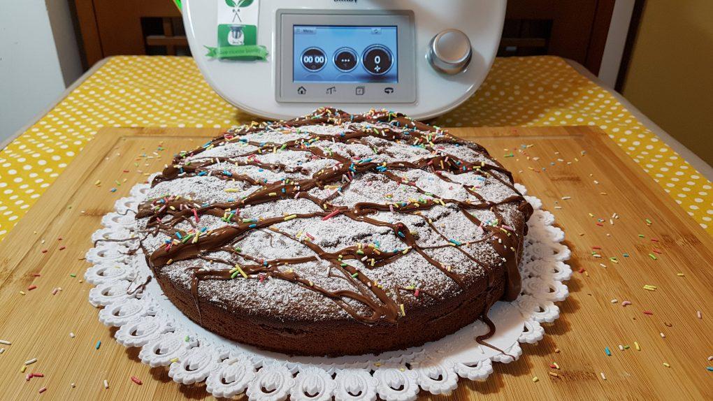 Torta soffice alla nutella bimby per TM5 e TM31