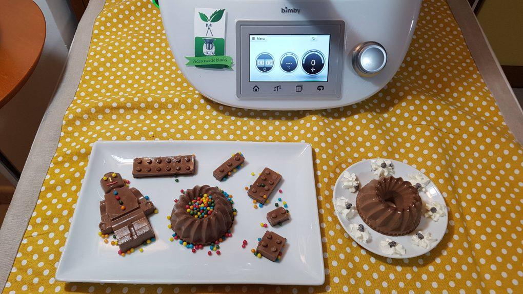 Panna cotta al cioccolato bimby per TM5 e TM31