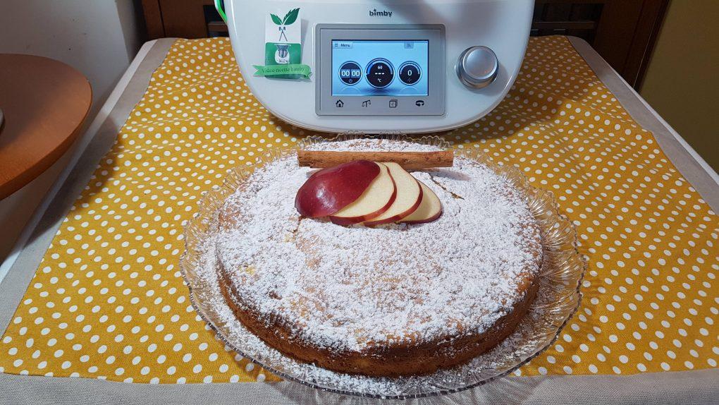 Torta mele e mascarpone bimby per TM5 e TM31