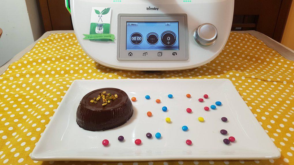 Budino vegano al cacao bimby per TM5 e TM31