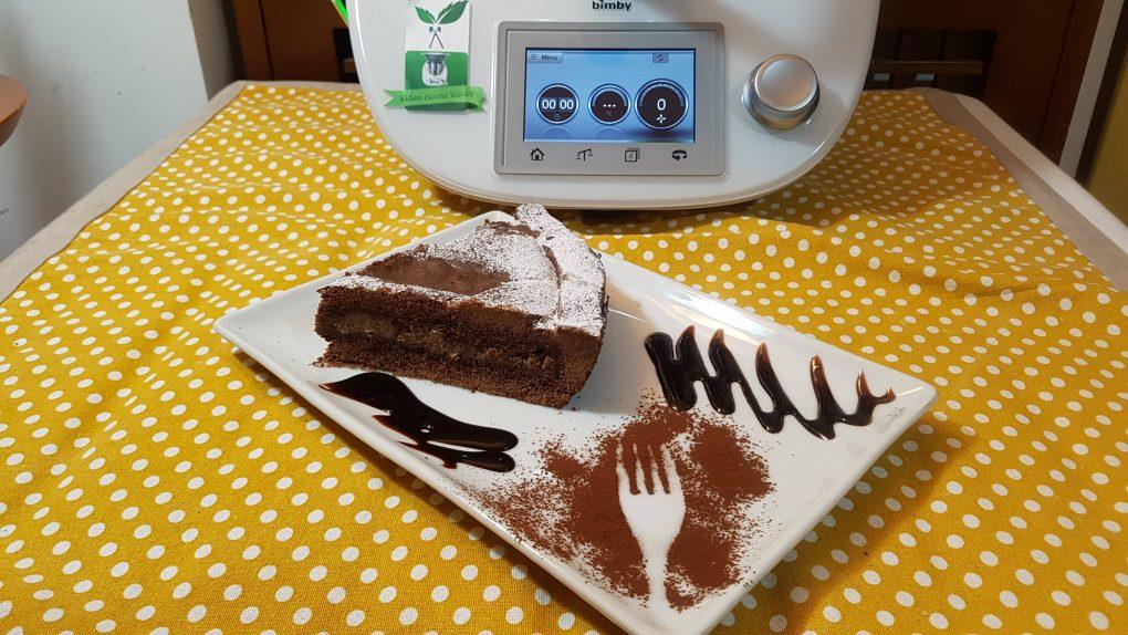 Pastiera al cioccolato con frolla al cacao