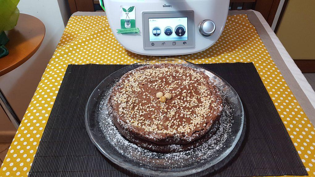Torta Magica Alla Nutella Bimby Per Tm5 E T31 Video Ricette Bimby
