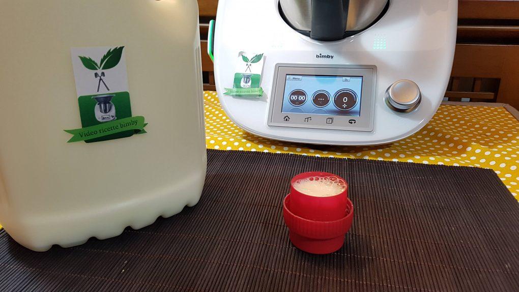 Detersivo liquido per bucato a mano o in lavatrice bimby per TM5