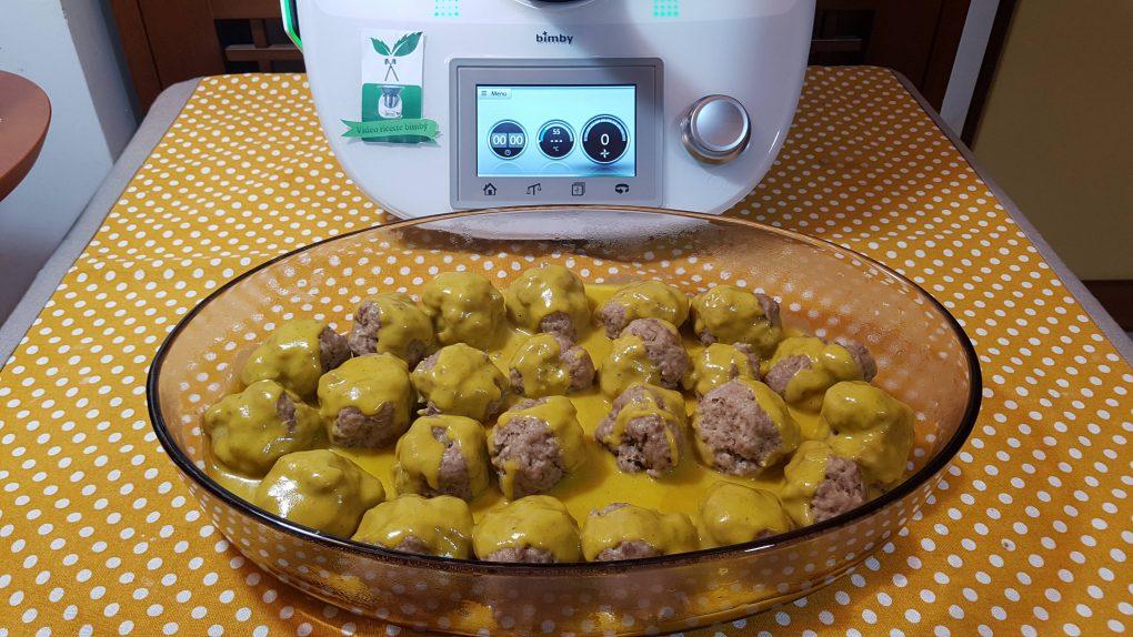 Polpette con salsa di verdure bimby per TM5 e TM31