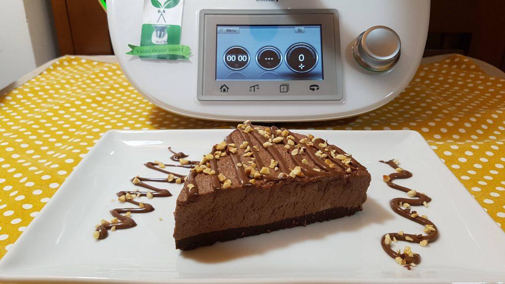 Cheesecake Alla Nutella Bimby Per Tm5 E Tm31 Video Ricette Bimby