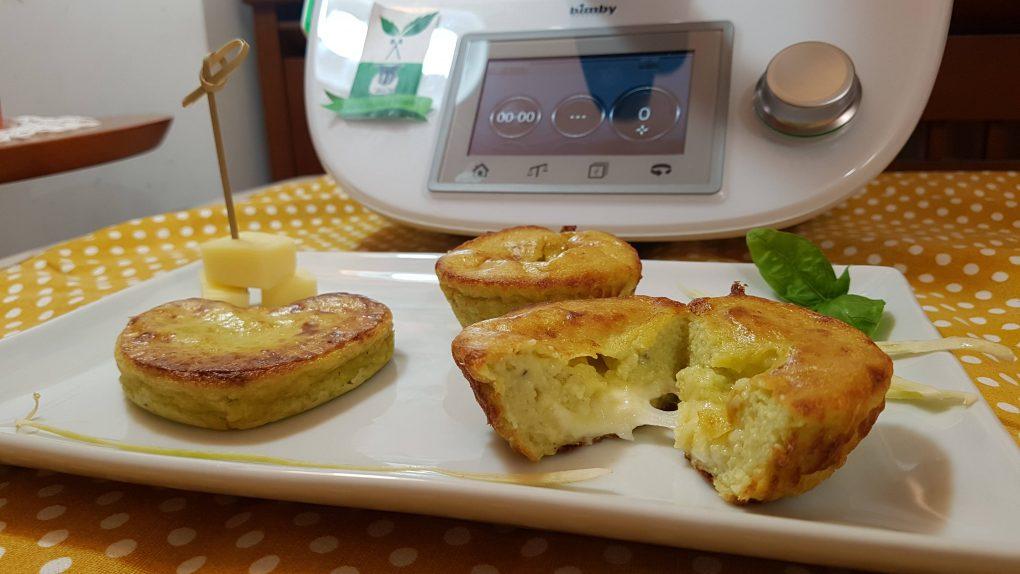 Sformatini di zucchine e fontina
