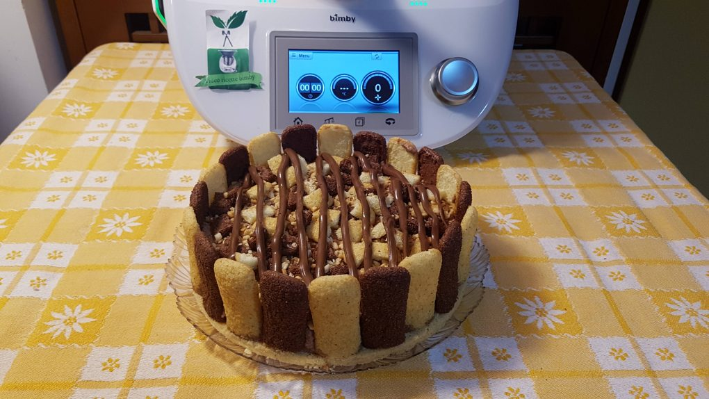 Torta nutella e pavesini