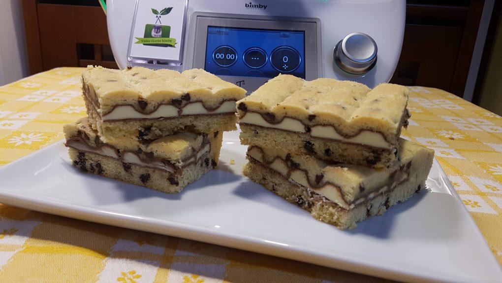 Crostata barrette kinder