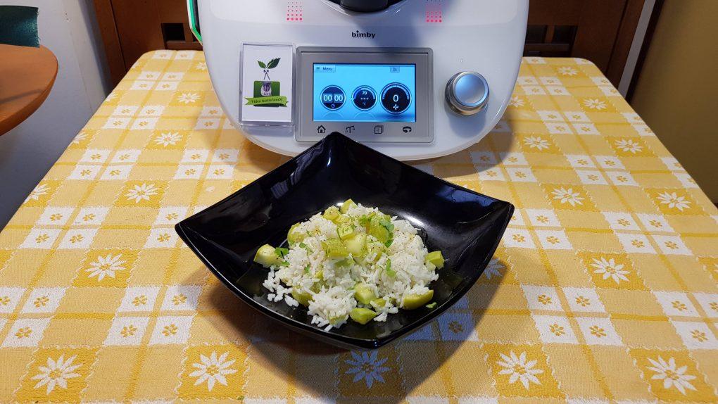Riso basmati con zucchine a varoma