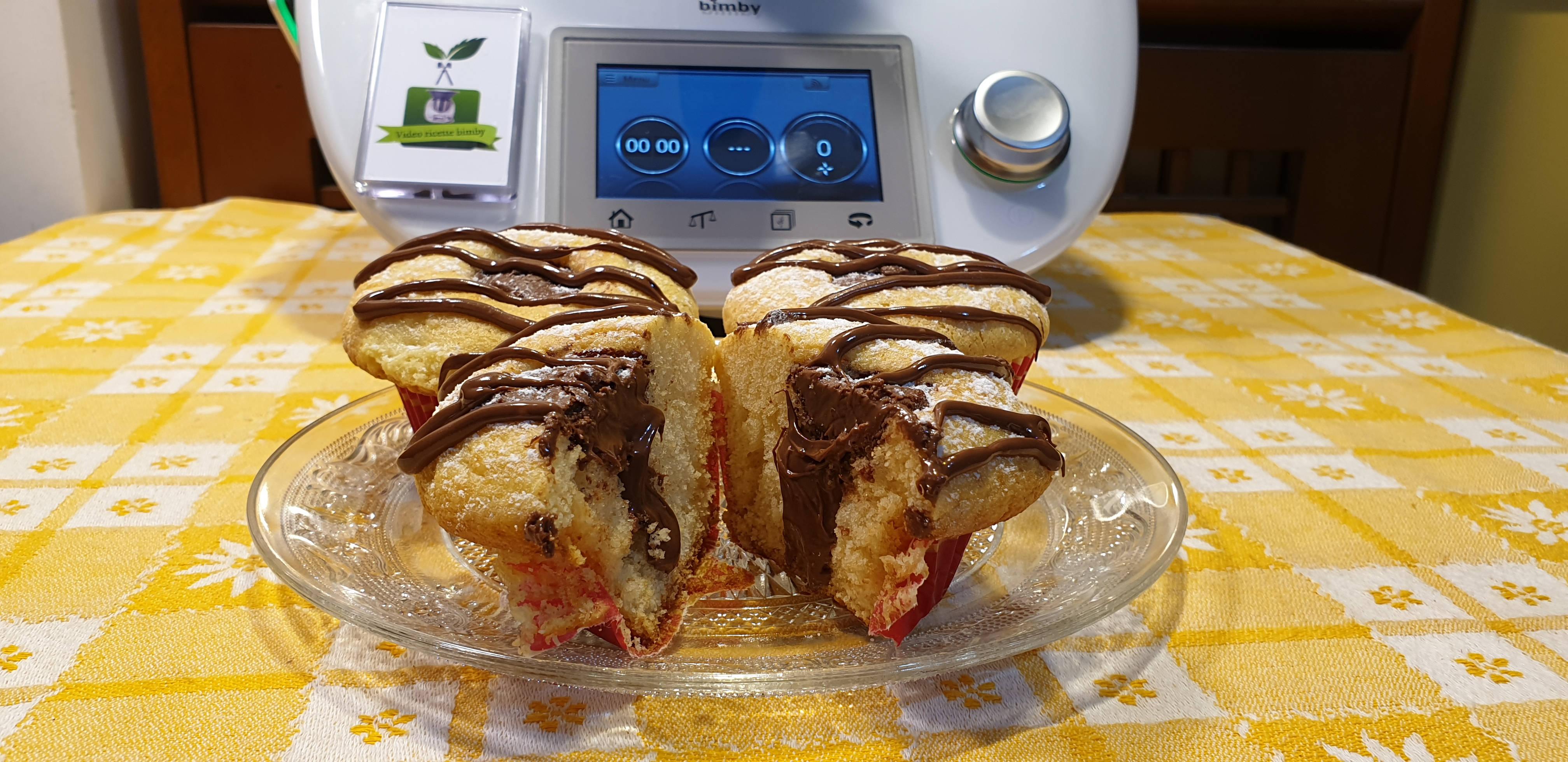 Muffins nutella e mascarpone
