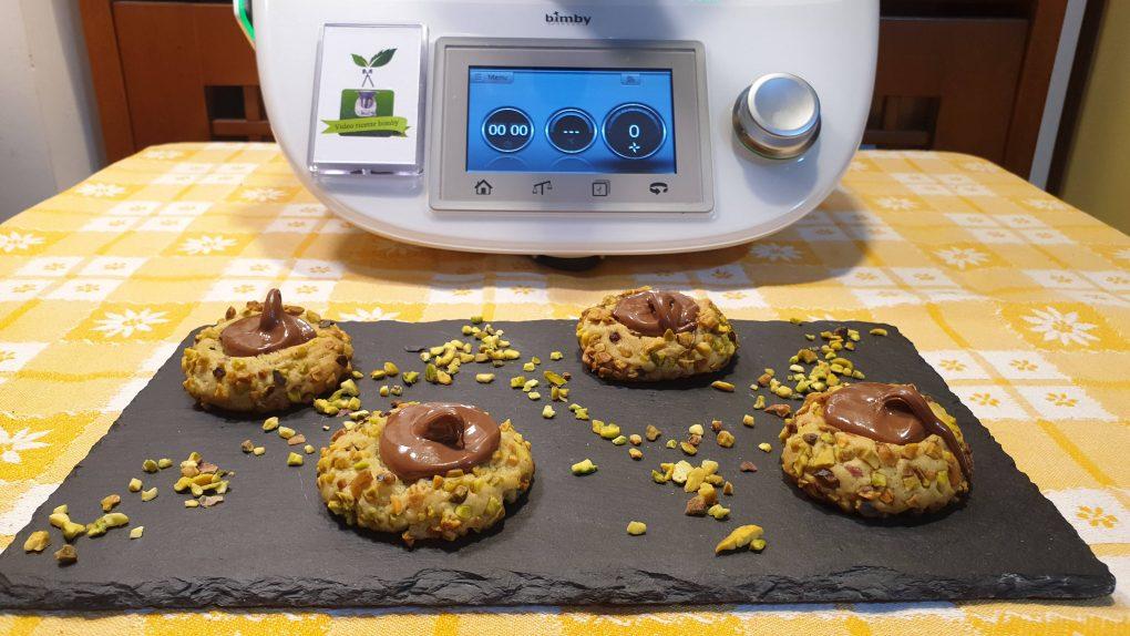 Biscotti pistacchi e nutella