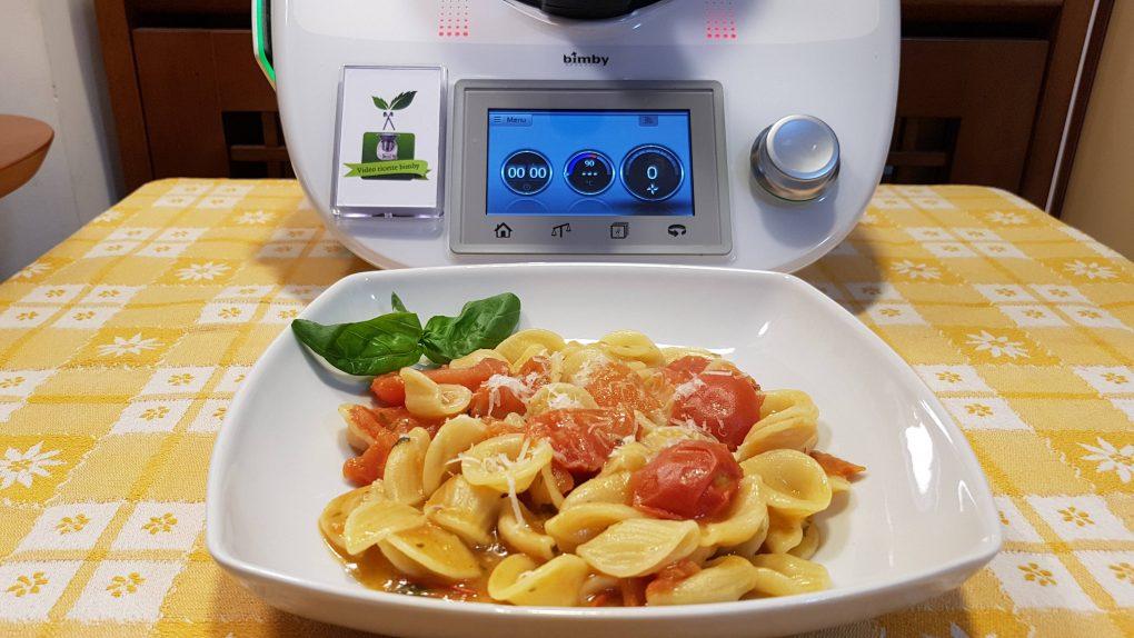 Pasta risottata pomodoro e basilico