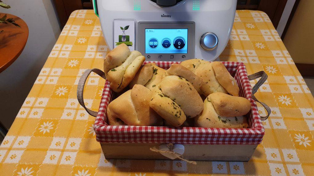 Pane a fisarmonica aromatizzato