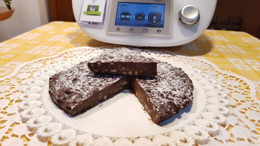 Torta croccante al cioccolato