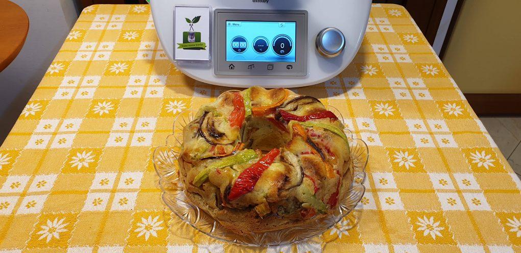 Ciambella salata con verdure