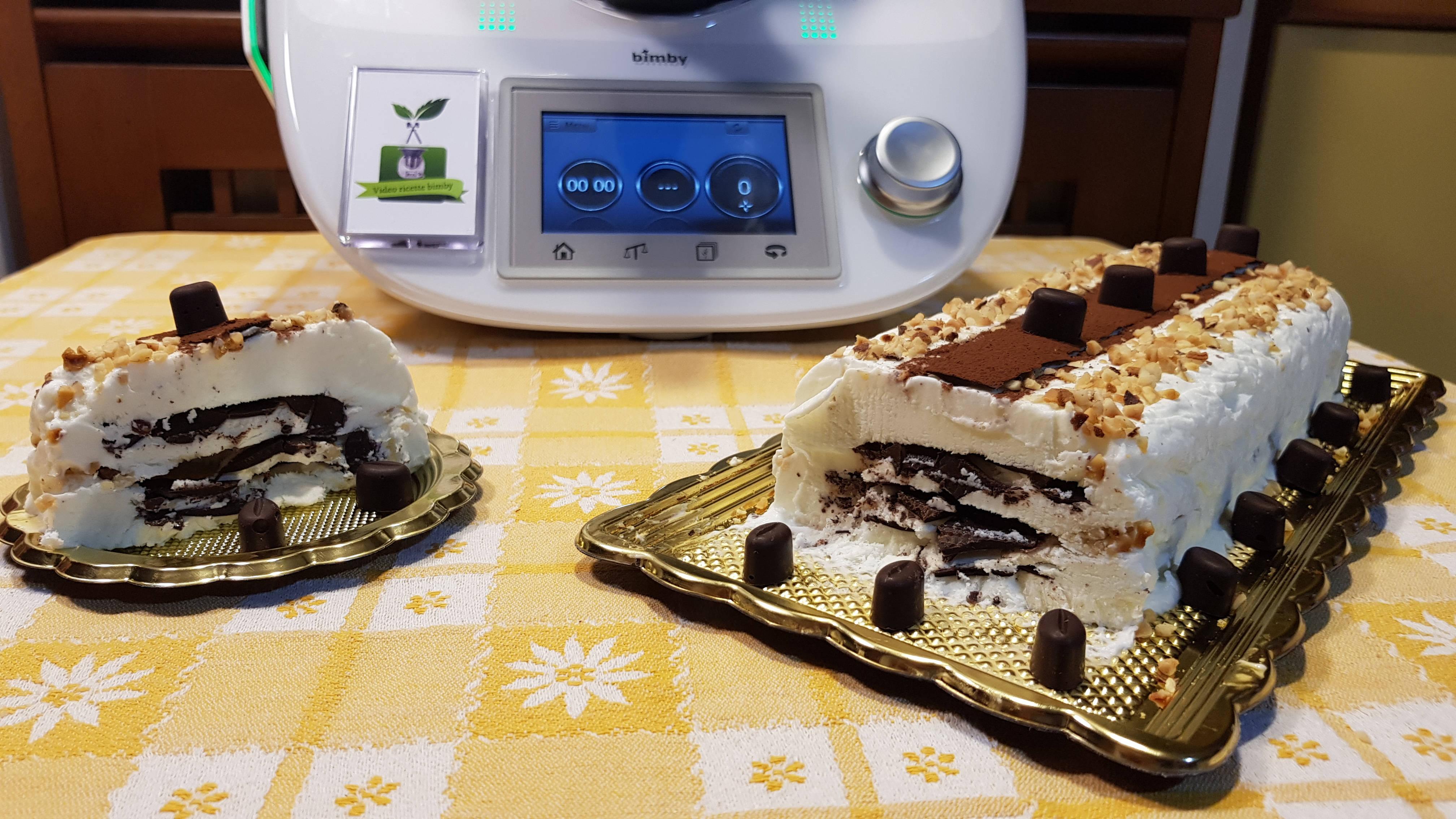 Torta gelato tipo viennetta