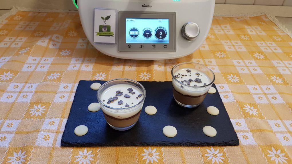 Panna cotta vaniglia e caffè
