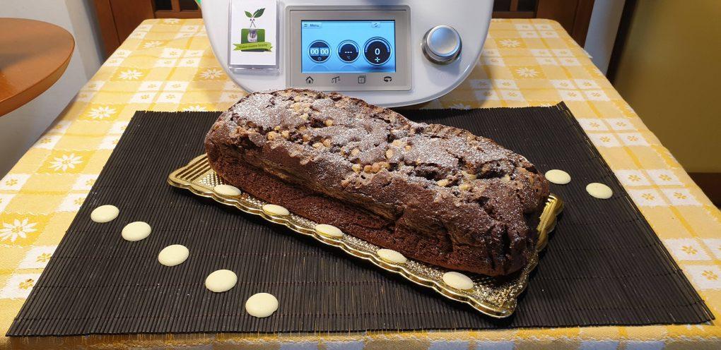 Plumcake veloce al cioccolato fondente