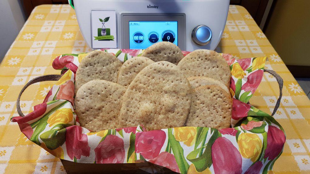 Pane azzimo preparato con il bimby