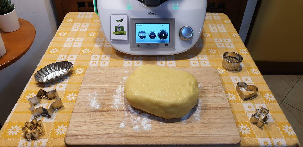 Pasta frolla preparata con il bimby