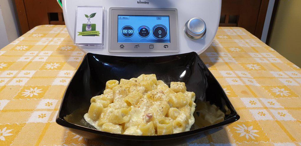 Pasta risottata ricotta e pancetta