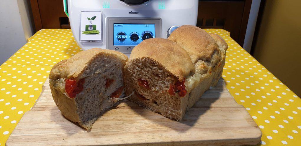 Pane pomodorini e mozzarella