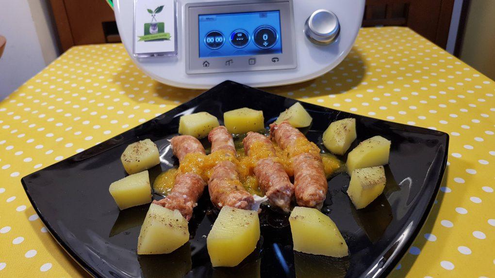 Salsiccia e patate a varoma