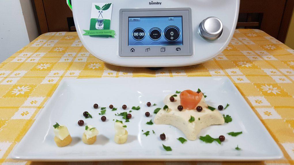 Tortini – flan di salmone cotti a vapore per bimby TM6 TM5 TM31