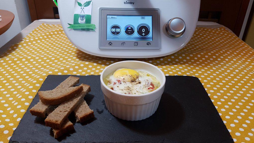 Uova in cocotte con spinaci bimby per TM5 e TM31