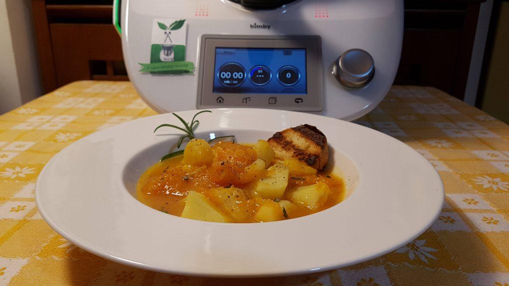 Zuppa di patate e zucca