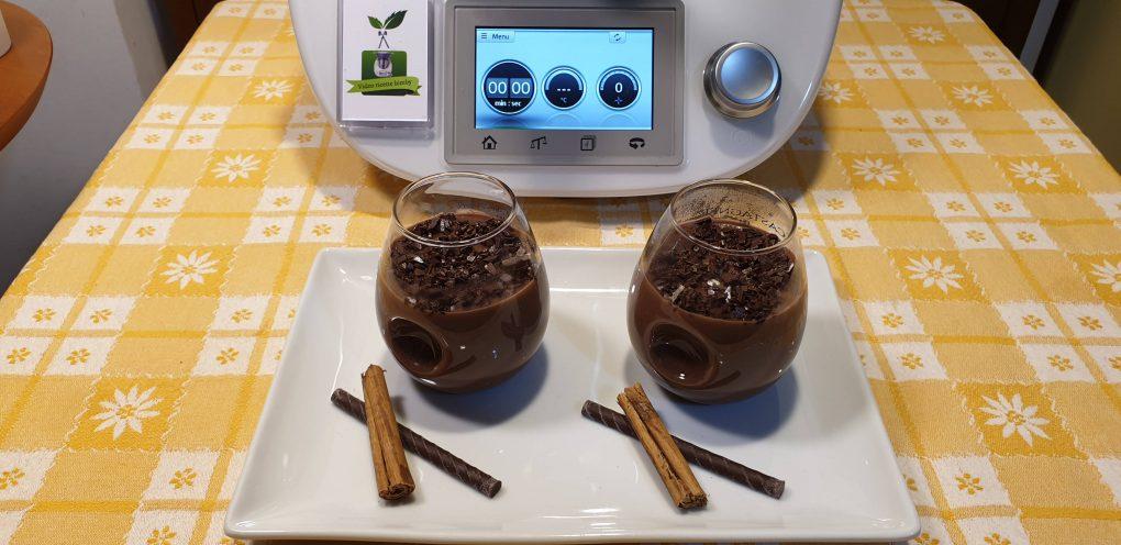Crema calda al cioccolato fondente