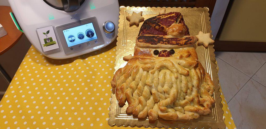Babbo Natale di pan brioche