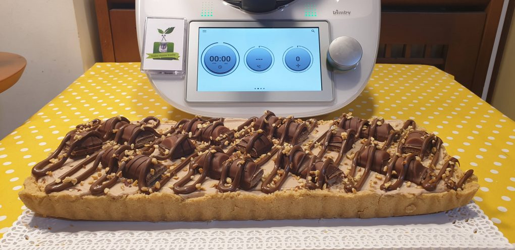 Crostata kinder bueno e nutella