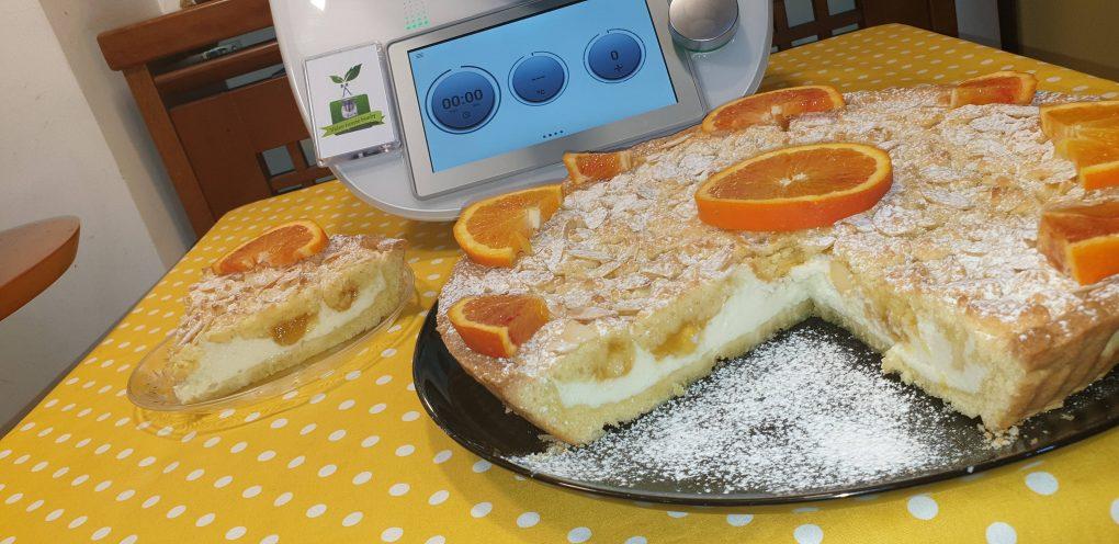 Sbriciolata all'arancia
