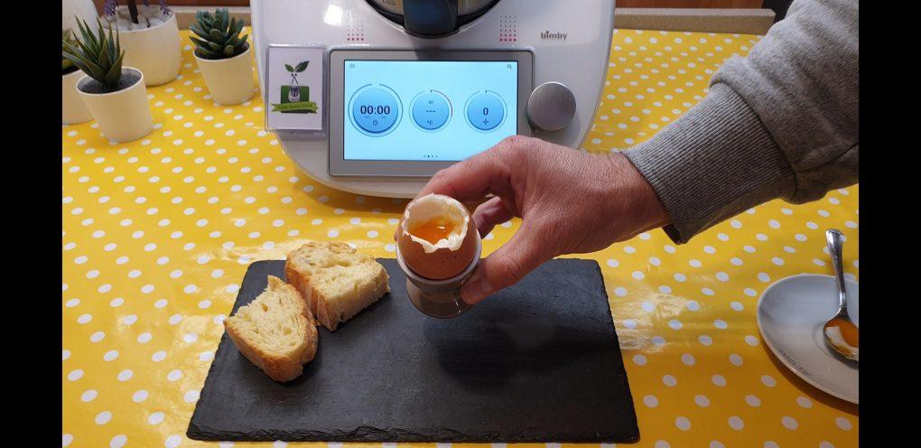 Funzione cuoci uova del bimby TM6